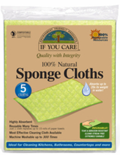 Sponge Cloths (If You Care)